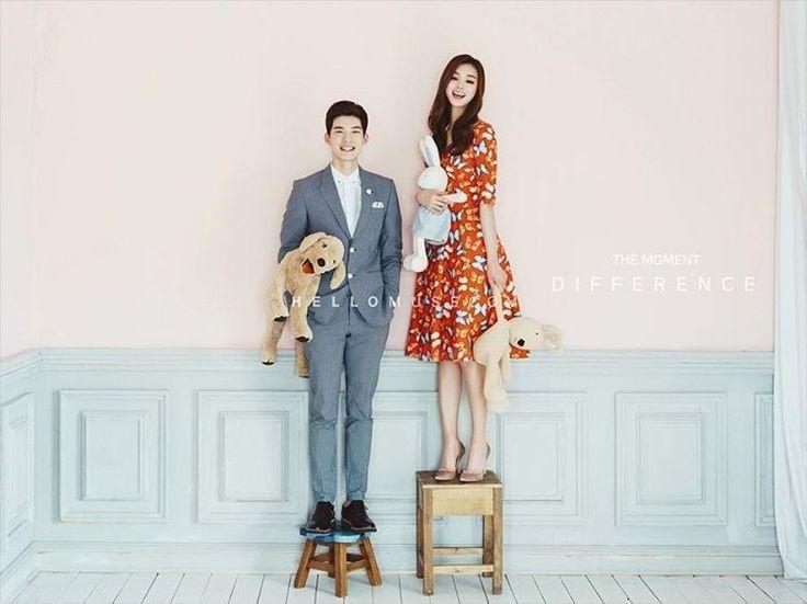 Romantis dan Lucu, Inilah 13 Pose Foto Prewedding Pasangan di Korea yang Layak Tiru