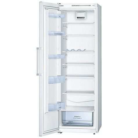 Buy Bosch KSV36NW30G Tall Larder Fridge, A++ Energy Rating, 60cm Wide, White Online at johnlewis.com