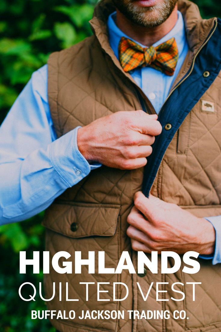 This quilted vest has a pigment and wax coating, with a vintage wash for that broken in look. Layers great with an oxford or a flannel.