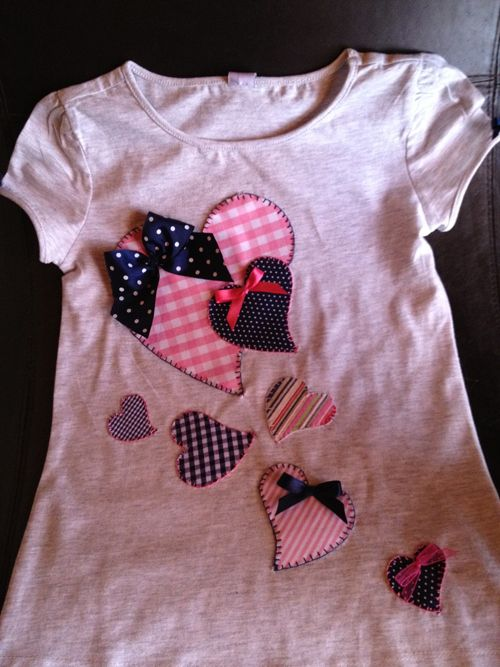 Camisetas decoradas con patchwork - Samaba
