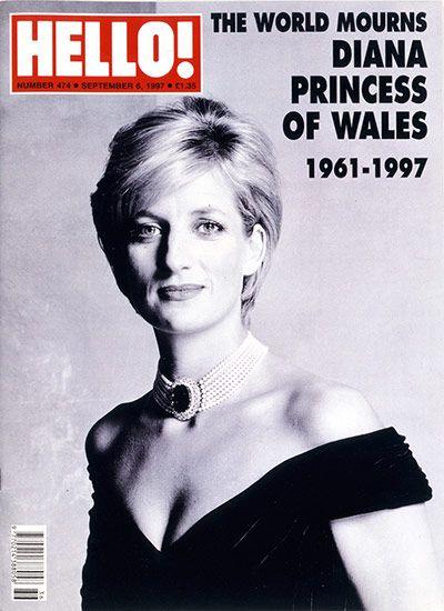 Credit: Courtesy of Hello! Magazine Princess Diana Issue 4746, September 1997.