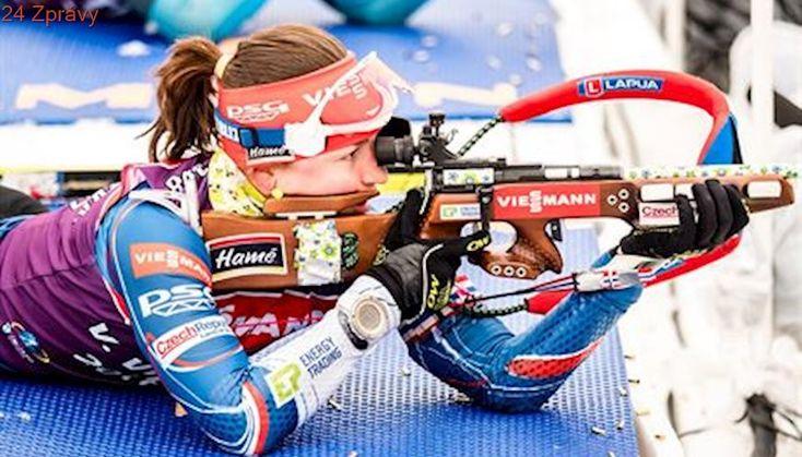 Další 'bedna' pro Vítkovou. Biatlonistka dojela potřetí během dvou týdnů bronzová