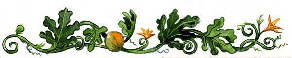 pumpkin vine tattoo band. (If I were to ever get an autumn themed tattoo.)