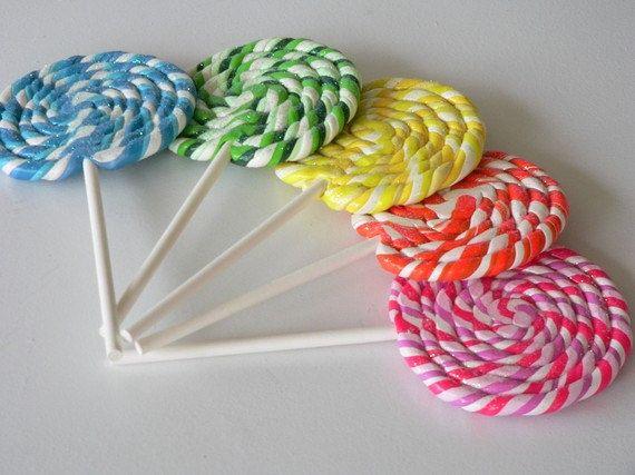 how to make swirl lollipops