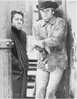 John Voigt in Midnight Cowboy