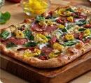 Domino's Tuscan Salami and Roasted Veggie pizza.  Mmmmm!