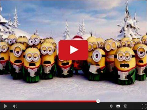Urocze żółte znane wszystkim Minionki z okazji Świąt Bożego narodzenia.. http://www.smiesznefilmy.net/minionki-spiewaja-swiateczne-koledy  #minionki #minions #MeryChristmass