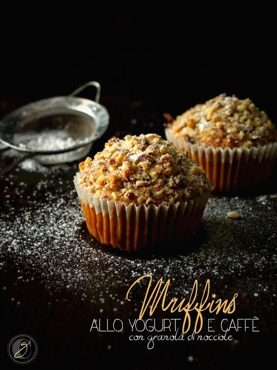 La domenica mattina e i muffins al caffè   CUCINA GHIOTTA