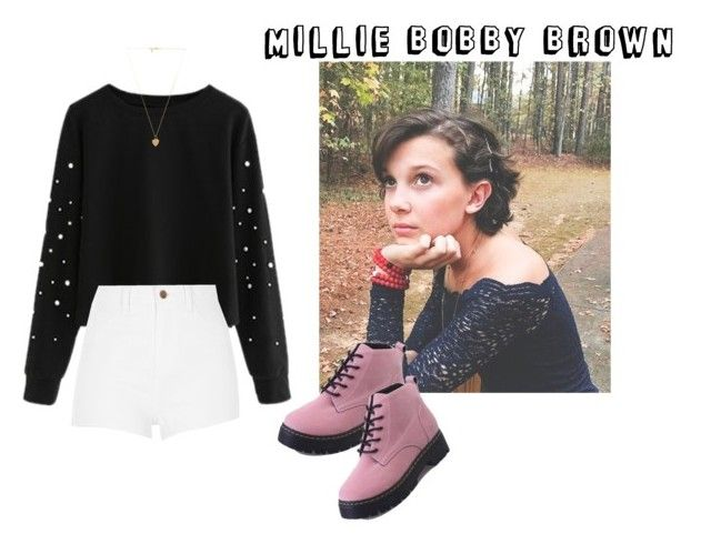 Millie Bobby Brown Brown Outfit Brown Fashion Millie Bobby Brown