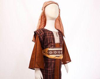 Boys Shepherd Costume, Size 5/6, Perfect for Christmas Nativity, Shepherd, Joseph or Innkeeper