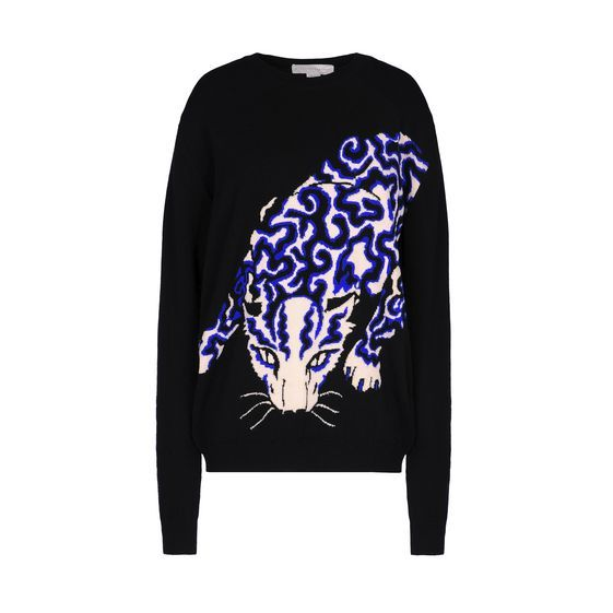 Shop the Leopard Crew Neck Jumper by Stella Mccartney at the official online store. Discover all product information.