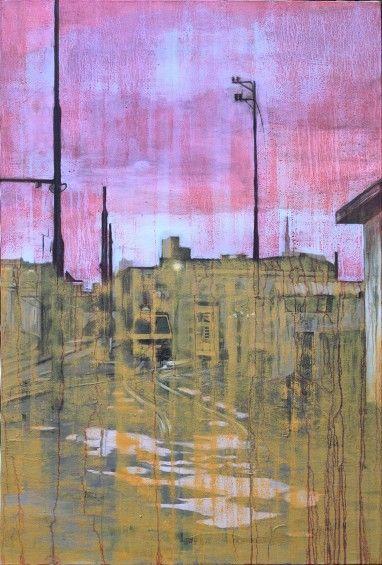 Tramonto a Milano Greco. #wetcatindustry #painting #antonioOrtolani