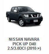 Nissan Navara Pick Up D40 2.5/3.0DCi (2010->)