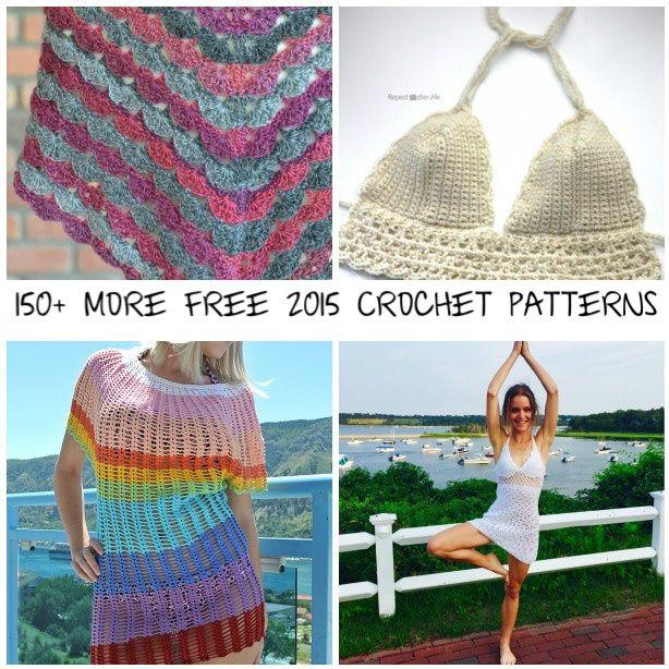 150 More Free 2015 Crochet Patterns