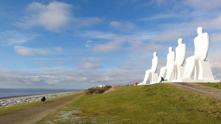 Statuerne v Esbjerg.