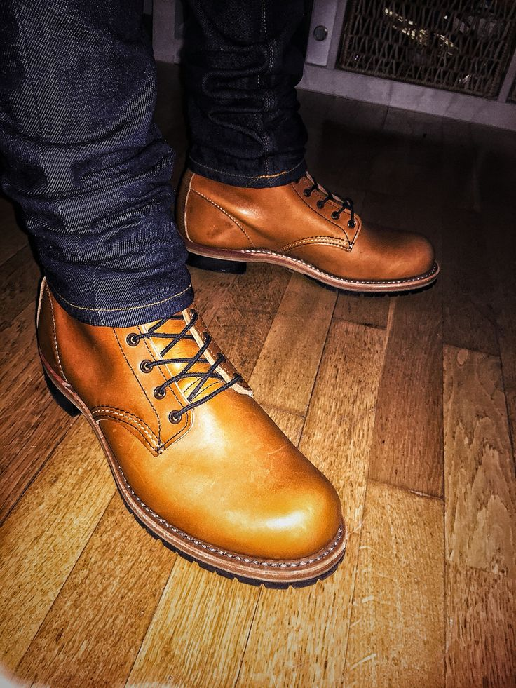 Red Wing Beckman Chestnut Featherstone Leather 9013 Brand New