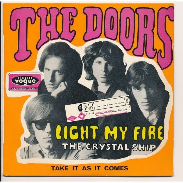 Greatest Rock Song of All Time. Light My Fire - Doors