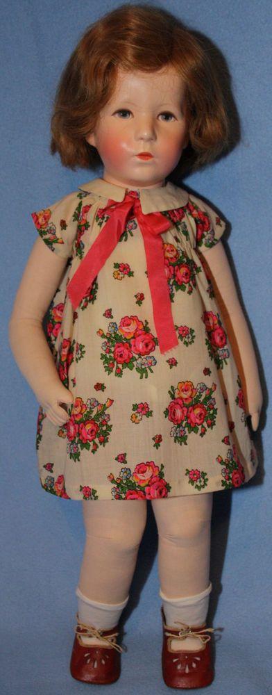 """Käthe Kruse Puppe """"Jordi"""" 1932/33"""