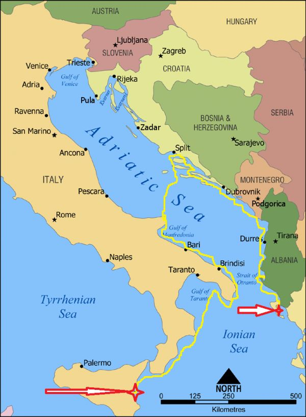 N°15 2015 Italie, Croatie, Albanie, Monténégro, Gréce. | STW