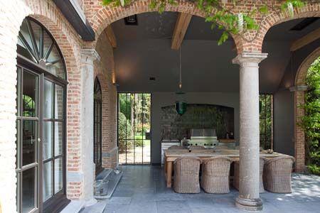 Belgian | Style | Interiors | porch | Terrace | FrankMissotten