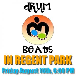 AN EVENING OF DRUMMING AND DRUM WORKSHOPS: Featuring Muhtadi,  & The World Drummers, T-Dot Batú, & Dread Micho, August 16th  @ Daniels Spectrum-MDC Partners Courtyard.