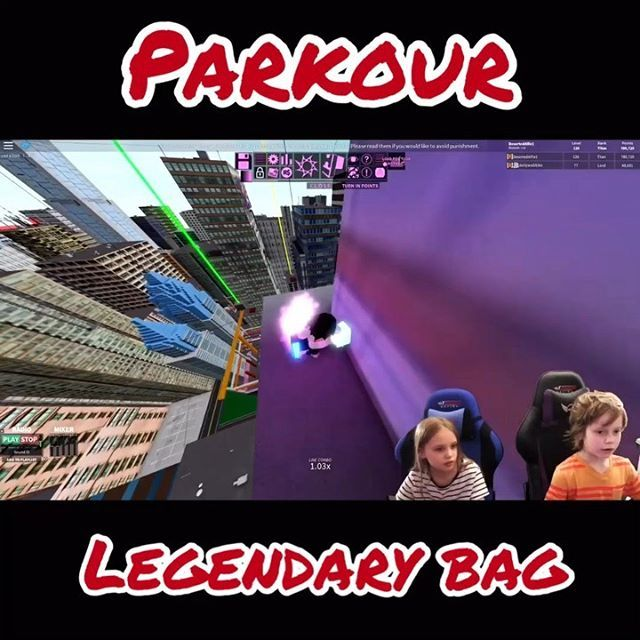 How To Hack Roblox Parkour Roblox Parkour Alife And Dolly Are Back Showing Where Legendary Bags Spawn This Is On Our Youtube Channel Now There Is A Link Parkour Roblox Roblox Gameplay