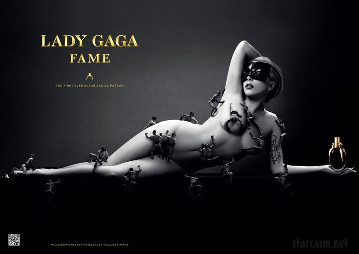 Lady Gaga's perfume Fame - must have!
