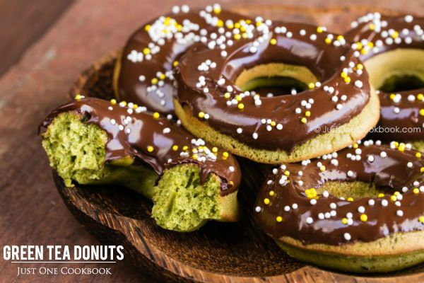 Green Tea Donuts 抹茶ドーナツ