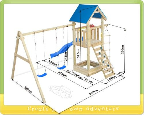 Afbeeldingsresultaat voor speeltoestel bouwtekening