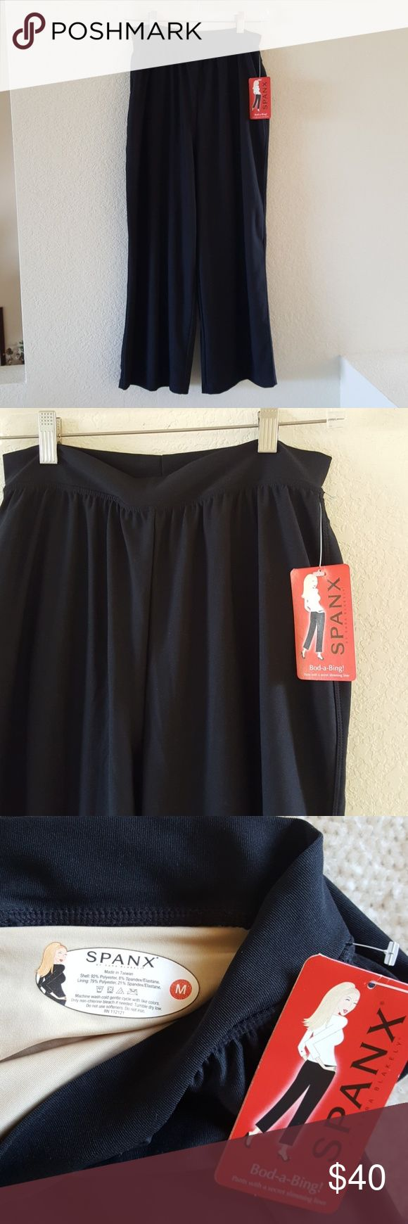 Black Spanx pants Fully lined SPANX Pants Ankle & Cropped