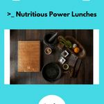 Cover Reveal: Your Healthy Eating Plan:: Nutritious Power Lunches