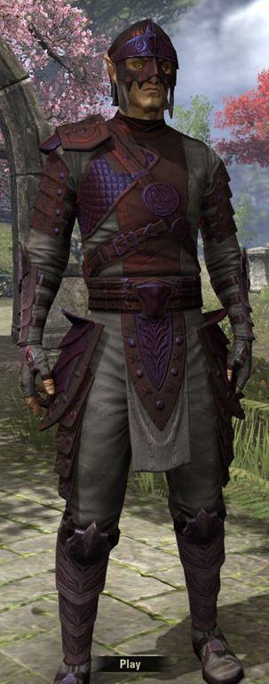 Mercenary Rubedo - Male Front