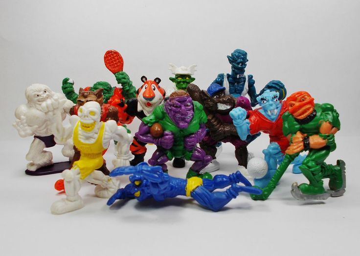 Monster in my Pocket - Complete Set X 12 - Sports Stars - Mini Toy Figures
