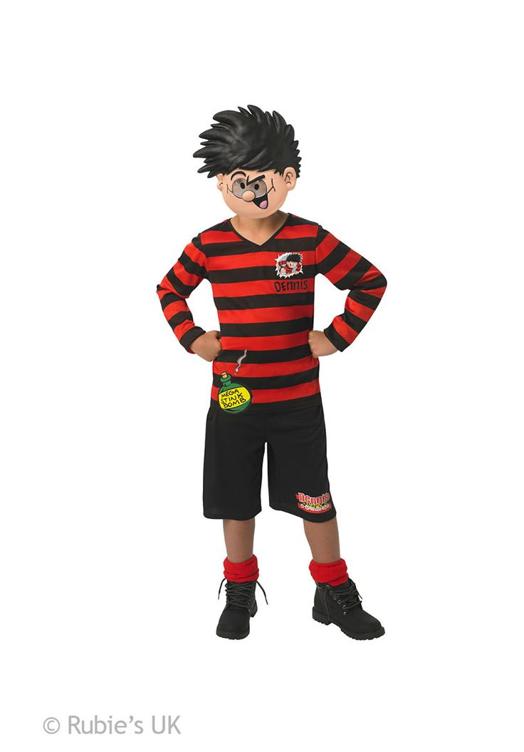 The most famous (and mischievous) boy ever represented in comic books, the Dennis the Menace is a perfect outfit for an active mind.
