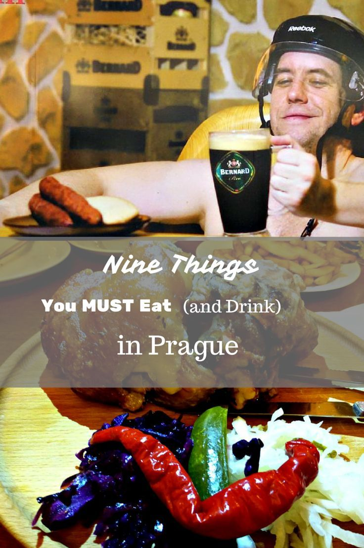 Nine things you MUST eat (and drink) in Prague - some may surprise you!