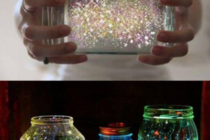 Fabriquez une lampe magique! C'est fabuleux!