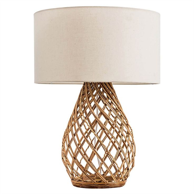 Twine Wicker Table Lamp freedom Wicker table, Natural
