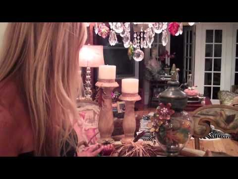 some clever ideas for fall decor from Dina Manzo...