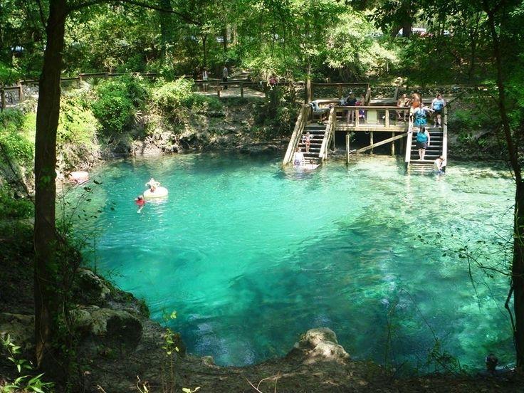 Au Natural Pool A Natural Pool At A Florida National