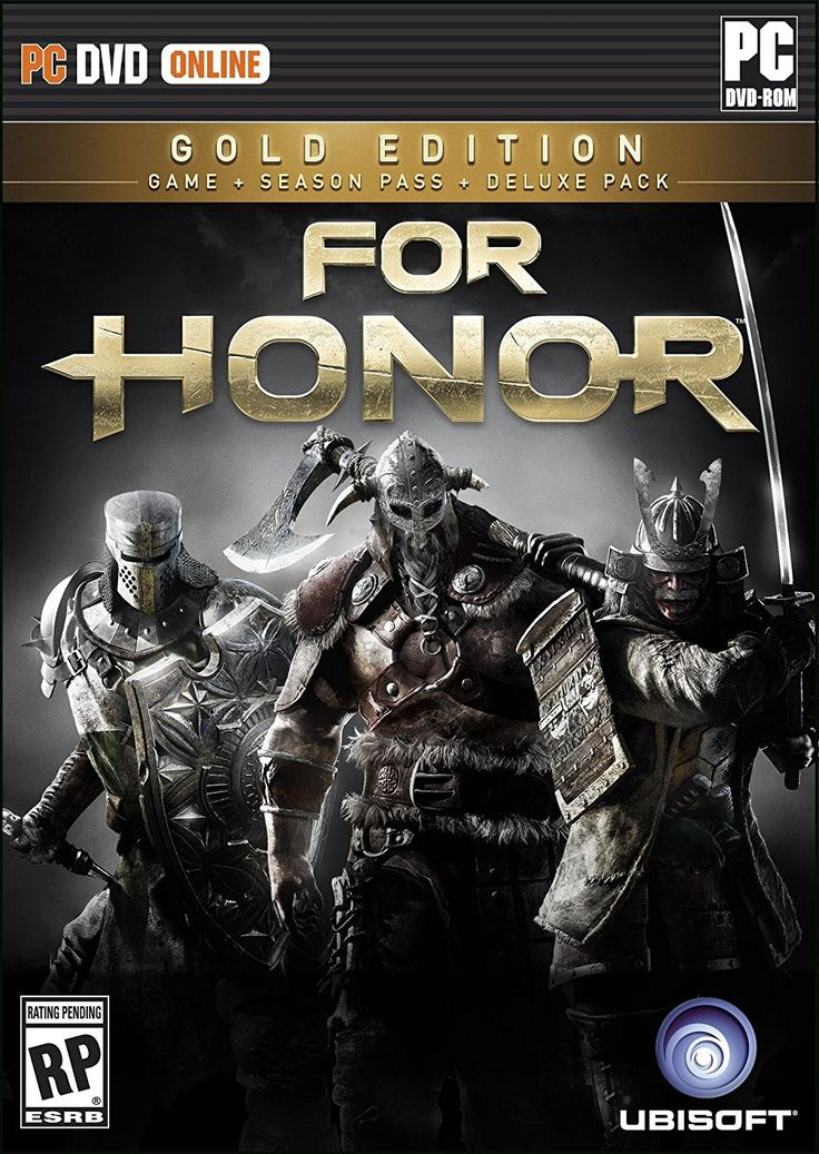 For Honor: Gold Edition Pre-Order For PC (Physical Disc)