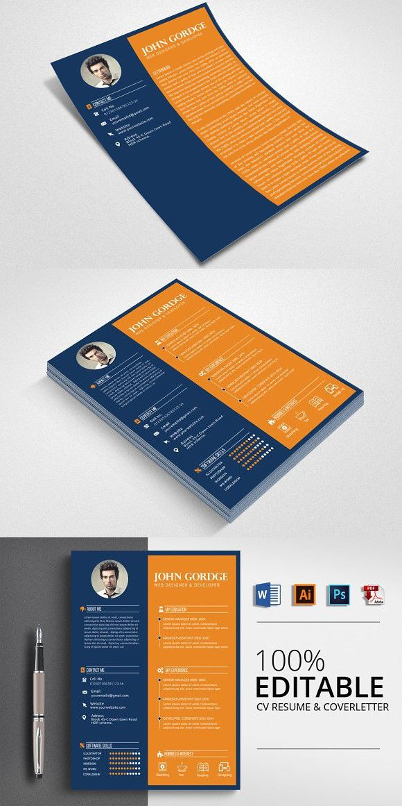 Job Resume Cv Word Format With Images Job Resume Cv Words