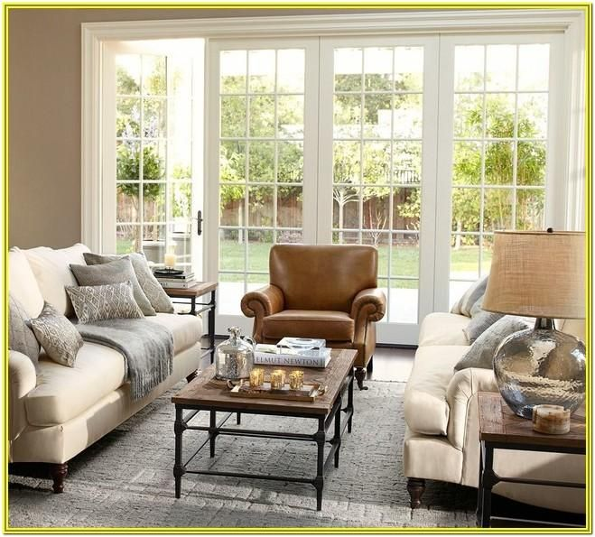 Gray Pottery Barn Living Room Ideas Di 2020 Desain Interior Desain Interior Rumah Interior #pottery #barn #living #room #pictures