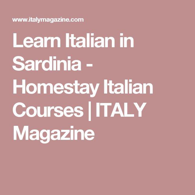 Learn Italian in Sardinia - Homestay Italian Courses | ITALY Magazine