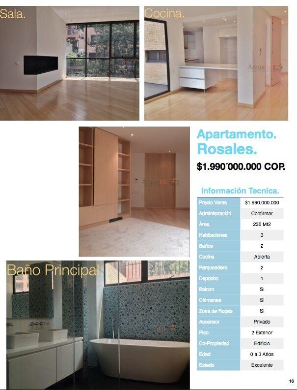 Apartamentos en venta Rosales, Chapinero, Bogotá, Colombia. Informes Marco Quijano 320 325 5311 maquijano@grupoazai.com