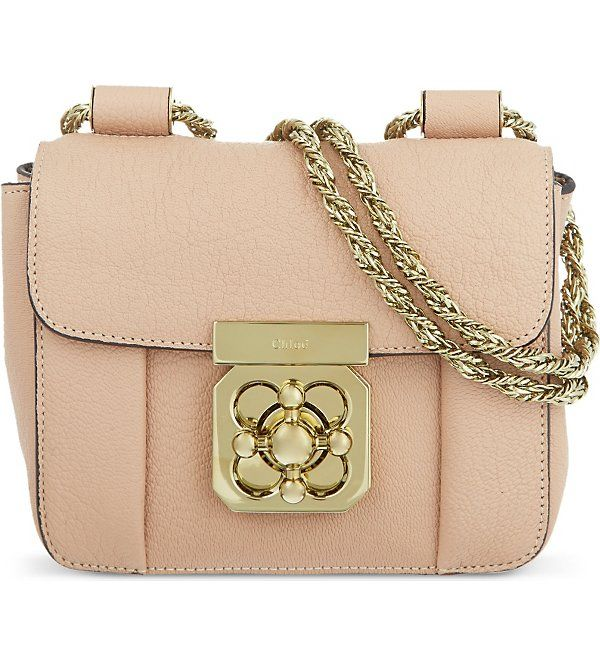 Want this!! xXx CHLOE Elsie mini chain bag (Biscotti beige ...
