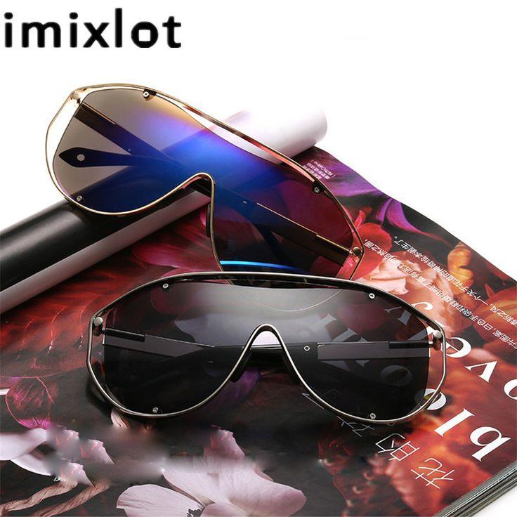 IMIXLOT Metal Frame Party Men Sunglasses Brand Design Steampunk Goggle For 2017 Summer Eyewear oculos de sol masculino #Affiliate