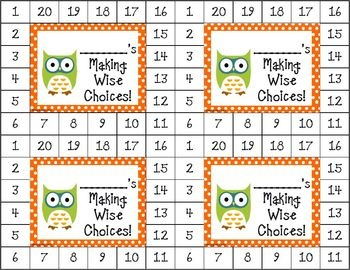 Differentiated Behavior Cards - (Owl Theme).  These cute owl-themed behavior cards can be used to motivate a wide range of students. $