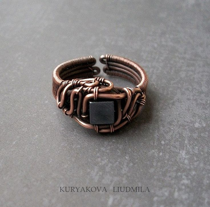236 best Wire Wrapped Rings images on Pinterest | Wire rings, Wire ...