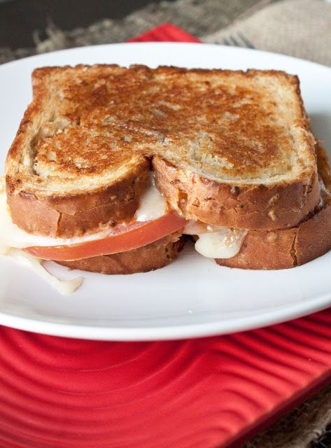 Caprese Grilled Cheese Sandwich with Balsamic Basil Mayo
