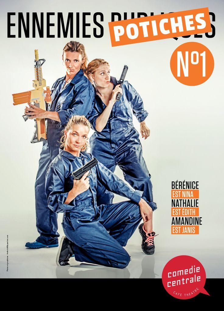 Ennemies Potiches N°1 - avec Bérénice, Nathalie Van Tongelen et Amandine Rajau